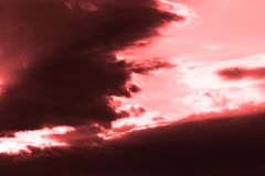 Abstract Sky Royalty Free Stock Photo