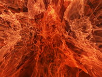 Abstract Slow Motion Fire Loop Background stock video footage