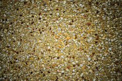 Abstract small rough gravel floor texture background Stock Images