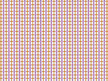 Abstract small white squares background and colorful lines Stock Photos