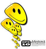 The abstract  smile background Royalty Free Stock Photo