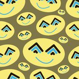 Abstract smiles Royalty Free Stock Photography