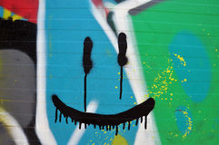 Abstract smiling face Royalty Free Stock Photo