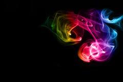 Abstract smoke Stock Image
