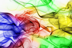 Abstract Smoke. Image of colored incense smoke Royalty Free Stock Photos