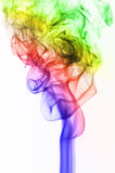 Abstract Smoke. Image of colored incense smoke Royalty Free Stock Photo