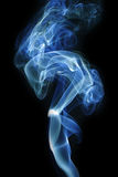 Abstract smoke. Contour on a background Stock Images