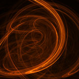 Abstract smoke. Abstract picture about abstract waves and smoke on black background stock illustration