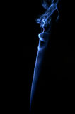 Abstract smoke. Blue Stock Image