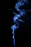 Abstract smoke. Blue Stock Photography