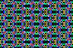 Abstract Smoke Art Pattern royalty free illustration