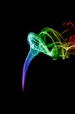 Abstract smoke background. Close-up Royalty Free Stock Photography