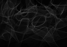 Abstract smoke background. Illustration in dark colors Royalty Free Stock Image