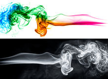 Abstract smoke background set Royalty Free Stock Photography