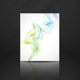 Abstract Smoke Background. Royalty Free Stock Photography