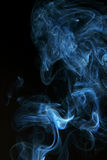 Abstract of smoke on black Stock Photography