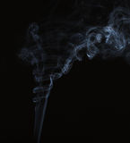 Abstract smoke on black Stock Photo