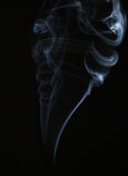 Abstract smoke on black Royalty Free Stock Photo