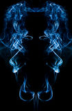 Abstract smoke on black Royalty Free Stock Photography