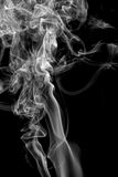 Abstract smoke on black background Stock Photography
