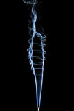 Abstract smoke on black background Royalty Free Stock Images