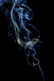 Abstract smoke on a black background. Stock Photos