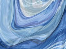 Abstract smoke curl lines Royalty Free Stock Image