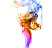 Abstract smoke curves Stock Images