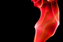 Abstract smoke curves - Fier Stock Photos