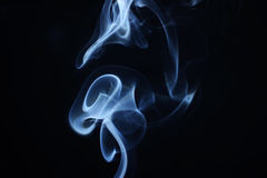 Abstract smoke flower Royalty Free Stock Photo