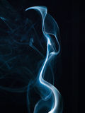 Abstract smoke isolated on black. Background Royalty Free Stock Photos