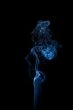 Abstract smoke isolated on black royalty free stock images