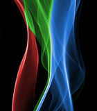 Abstract smoke macro background Royalty Free Stock Photography