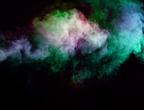Abstract smoke moves Royalty Free Stock Image