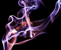Abstract smoke swirls Royalty Free Stock Images