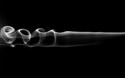 Abstract smoke swirls Stock Photography