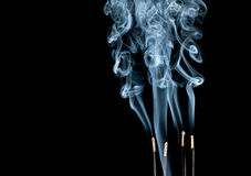 Abstract smoke waves Royalty Free Stock Photos