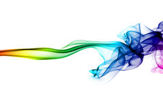 Abstract smoke on white Royalty Free Stock Photography