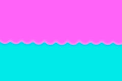 Abstract smooth blur blue and pink background with heart.  Royalty Free Stock Photos