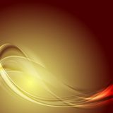 Abstract smooth blurred waves bright background Stock Image