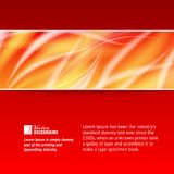 Abstract smooth horizontal background. Royalty Free Stock Images