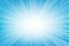 Abstract smooth light blue perspective background. Vector and illustration Vector Illustration
