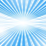 Abstract smooth light blue perspective background. Stock Images