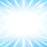 Abstract smooth light blue perspective background. Vector illustration Royalty Free Stock Images