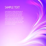 Abstract smooth violet lines. Royalty Free Stock Photos