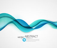 Abstract smooth wave motion illustration Royalty Free Stock Image