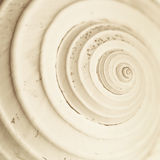 Abstract snail spiral Stock Images