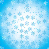 Abstract snow background. Abstract background with numerous snowflakes Royalty Free Stock Photos