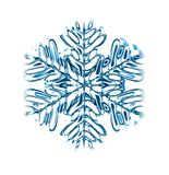 Abstract snow background Royalty Free Stock Images