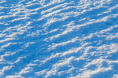 Abstract snow background at sunset lights. Abstract snow outdoor background with selective focus at sunset lights royalty free stock image